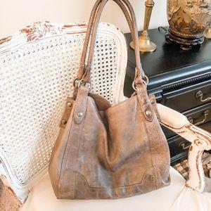 FRYE Melissa distressed handbag